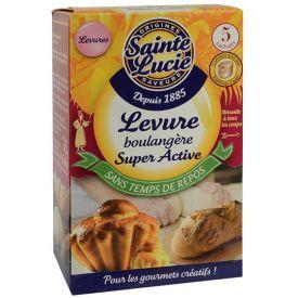 Sausos kepimo mielės SAINTE LUCIE, greito veikimo, 5 maišeliai, 40 g