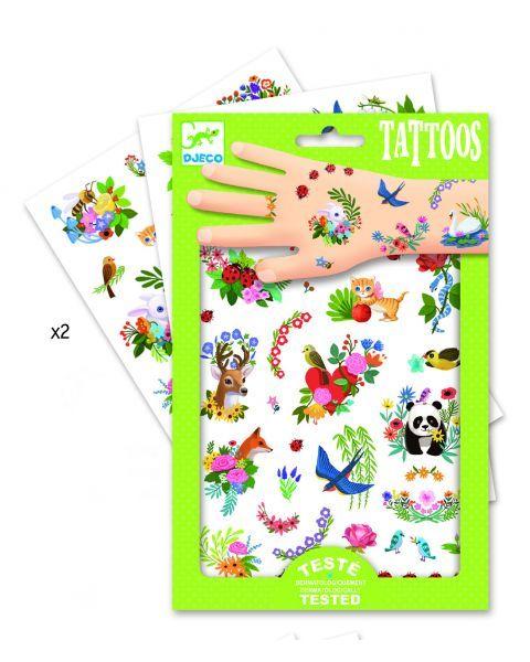 Tatuiruotės vaikams DJECO Happy Spring (DJ09591) 2