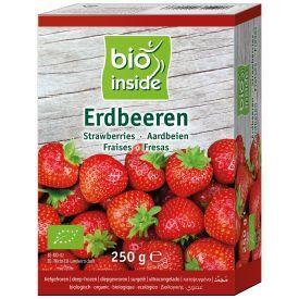 Šaldytos braškės BIO INSIDE, ekologiškos, 250g