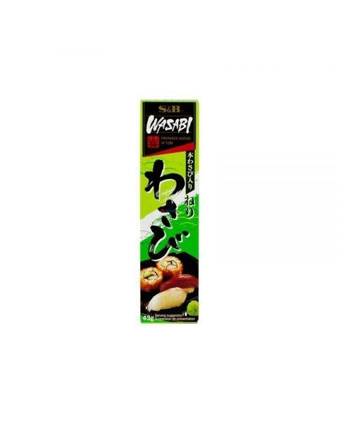 Japoniškų krienų pasta S&B Wasabi, 43 g