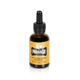 Medienos ir viduržemių citrusų aromato barzdos aliejus PRORASO, 30 ml