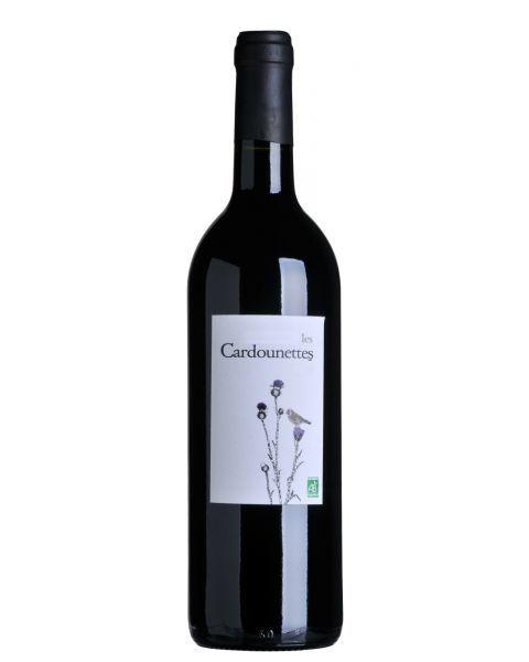 Ekologiškas raudonas sausas vynas Les Cardounettes Merlot Cabernet 13,5%, 750ml