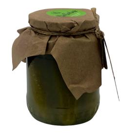 Fermentuoti agurkai BIO SODAS, biodinaminiai, 400g