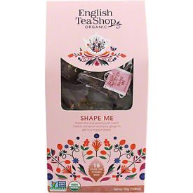 Ekologiška arbata ENGLISH TEA SHOP Shape Me, 15 maišelių