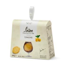 Itališki sausainiai LOISON su citrinomis, 200 g
