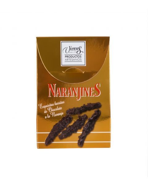 Apelsinų žievelės šokolade VICENS, 120g