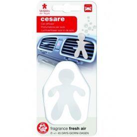 Automobilių oro gaiviklis CESARE plastikinėje pakuotėje - FRESCH AIR, Mr&Mrs Fragrance