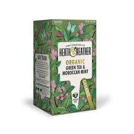 Ekologiška žalioji arbata su Maroko mėtomis HEATH& HEATHER, 40g