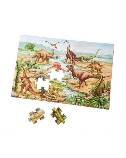 "Dėlionė (48 detalės) MELISSA & DOUG ""Dinosaurs"", 1 vnt. 2"