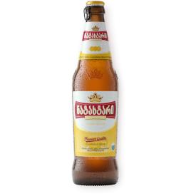 "Šviesusis alus ""Natakhtari Premium"" 5% butelis 0,5L"