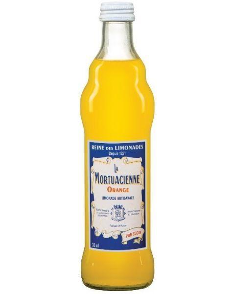 Gazuotas gaivusis gėrimas LA MORTUACIENNE,apelsinų skonio,0,33L