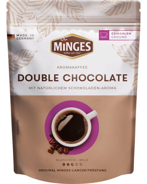 Malta kava MINGES Aroma Double Chocolate, 250g.