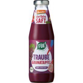 Ekologiškos biodinaminės vynuogių ir granatų sultys FUR, 500ml