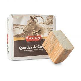 """Ožkų pieno sūris """"QUADER DE CAVRA"""" CAROZZI, brand.30 dienų, 1 kg"""