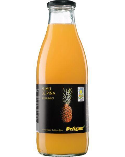 Ekologiškos ananasų sultys DELIZUM, 750ml