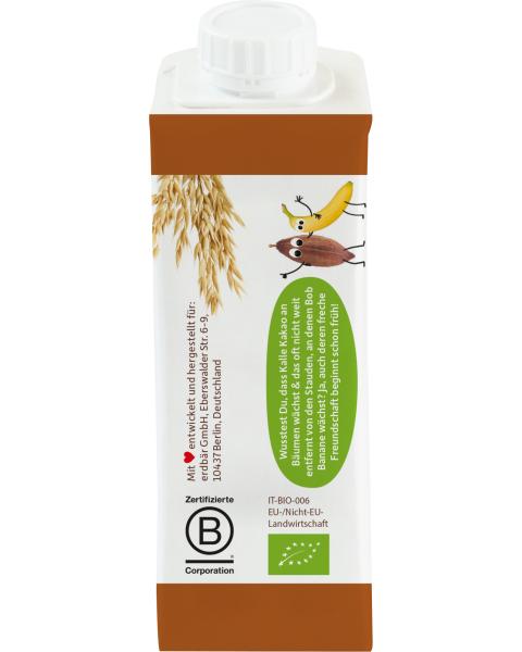Ekologiškas avižų gėrimas FRECHE FREUNDE su bananais ir kakava, 250 ml 2