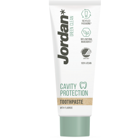 Green Clean dantų pasta Cavity Protection JORDAN, 75 ml