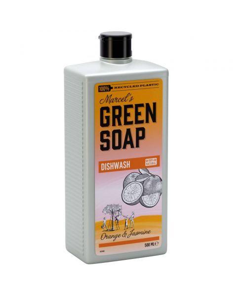 Indų ploviklis MARCELS GREEN SOAP su apelsinais ir jazminais, 500 ml