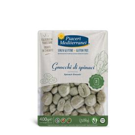 Bulvių kukuliai PIACERI MEDITERRANEI su špinatais, be gliuteno, 400 g