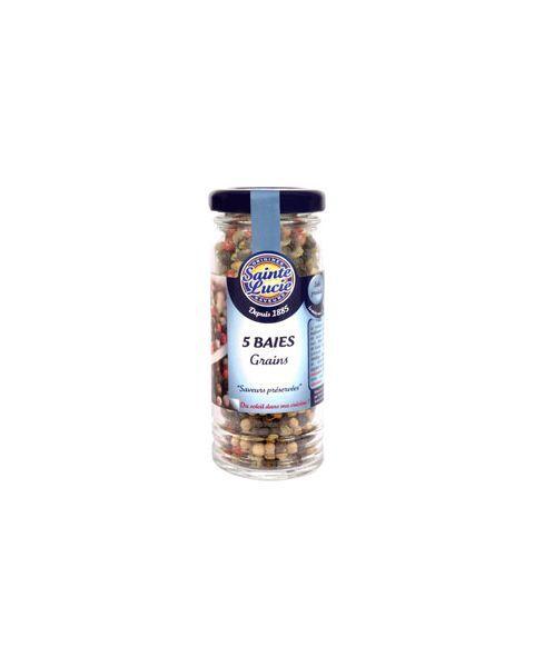 Penkių pipirų mišinys žirneliais SAINTE LUCIE, 45 g