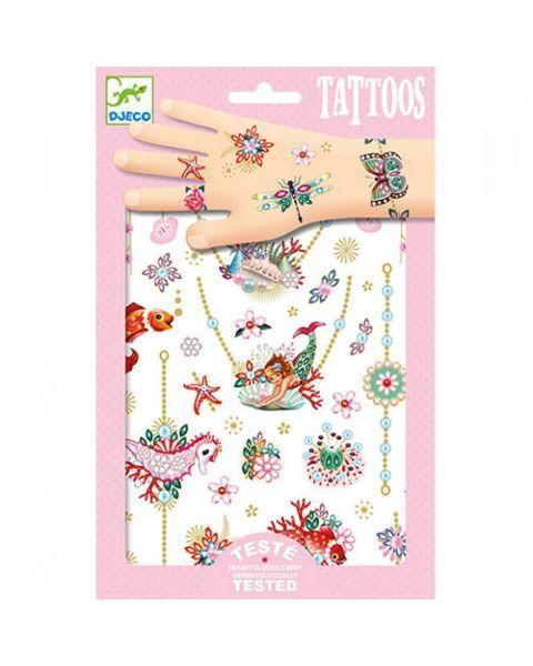 Tatuiruočių rinkinys DJECO vaikams nuo 3 metų (DJ09586)