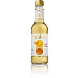 Nealkoholinis kokteilis HIGHBALL Ginger Dram 0%, 250 ml
