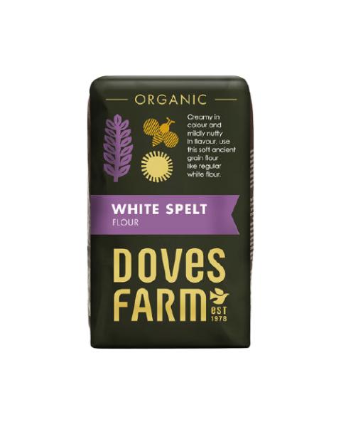 Ekologiški baltieji speltų miltai DOVES FARM, 1 kg