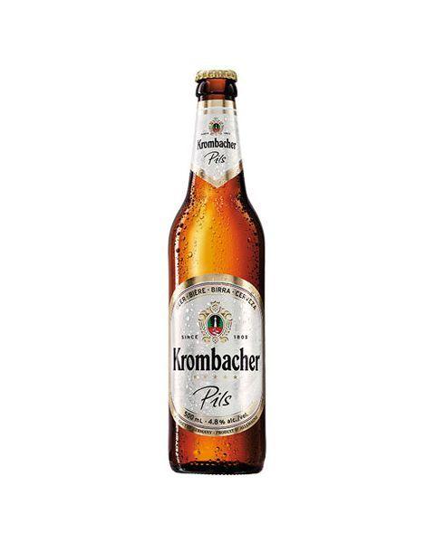 """Šviesusis alus """"Krombacher Pils"""" 4,8% butelis, 500 ml"""