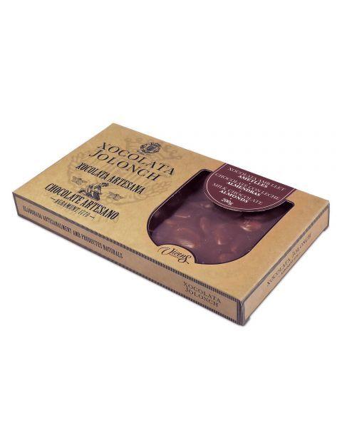 Pieninis šokoladas su migdolais JOLONCH, 200g