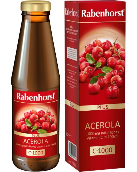 Ekologiškos acerola vaisių sultys RABENHORST, 450 ml