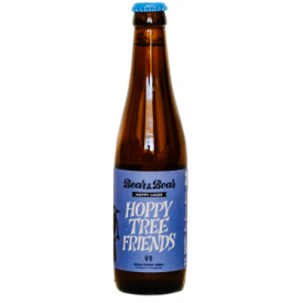 "Alus ""Hoppy Tree Friends"" BEAR&BOAR Hoppy Lager, 330ml"