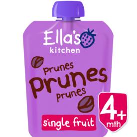 Ekologiška slyvų tyrelė ELLA'S KITCHEN kūdikiams nuo 4 mėn., 70 g