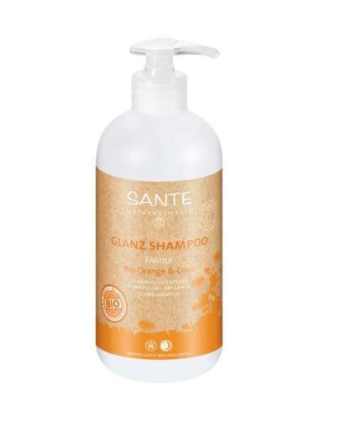 Šampūnas plaukams SANTE su apelsinais ir kokosų pienu, 500 ml