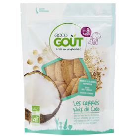Ekologiški duoniukai GOOD GOUT kokosų skonio, 50g., nuo 8 mėnesių