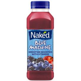 Obuolių ir mėlynių skonio glotnutis NAKED blue machine su vitaminais, 360ml