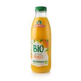 Ekologiškos apelsinų sultys 100% ANDROS, 750 ml