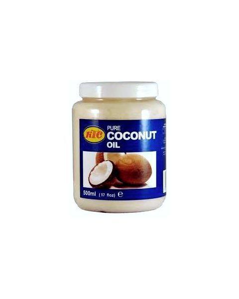Neutralaus skonio ir kvapo, rafinuotas kokosų aliejus, KTC, 500 ml