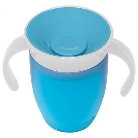 Mėlyna gertuvė MUNCHKIN Miracle 360° vaikams nuo 6 mėn., 207 ml (012094)