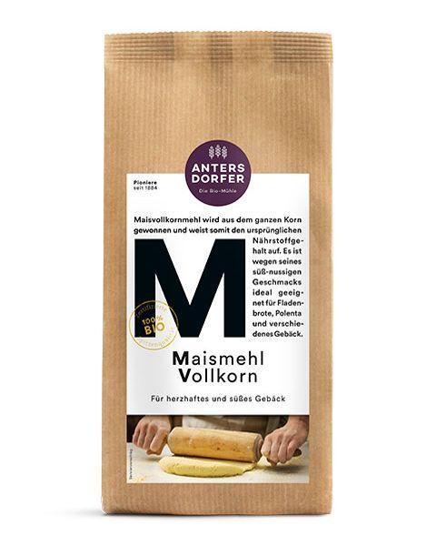 Ekologiški kukurūzų miltai  ANTERSDORFER, 500 g