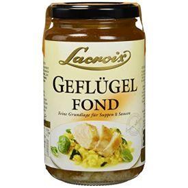 """Vištienos sultinys LACROIX """"Geflügel Fond"""" sriuboms ir padažams, 400 ml"""
