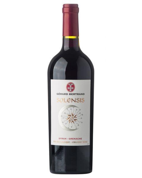 Raudonas vynas GERARD BERTRAND Solensis 13%, 750 ml