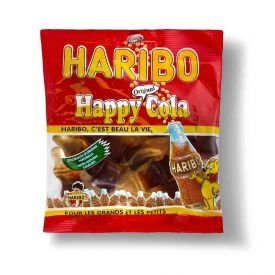 Guminukai HARIBO Happy cola, 120 g