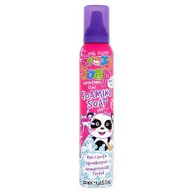 Putos maudynėms KIDS STUFF Pink, 225 ml