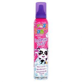 Rožinės putos maudynėms KIDS STUFF Crazy Soap, 225 ml