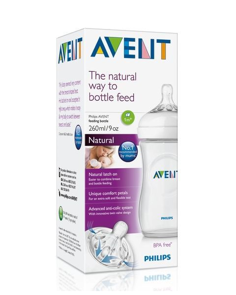 Buteliukas PHILIPS AVENT Natural 260 ml, 1 vnt. 4
