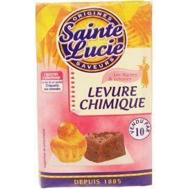 Kepimo milteliai SAINTE LUCIE, 5 maišeliai, 50 g