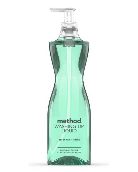 Žaliosios arbatos ir citrusų kvapo indų ploviklis METHOD, 532 ml