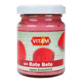 Ekologiška burokėlių užtepėlė VITAM, 125 g
