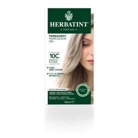 Plaukų dažai be amoniako HERBATINT su ekologiškais ekstraktais, 10C švediška blondinė, 150 ml