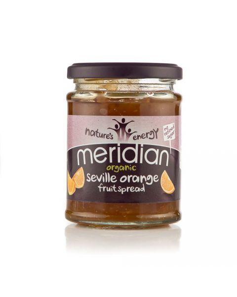 Ekologiškas apelsinų džemas MERIDIAN, 284 g